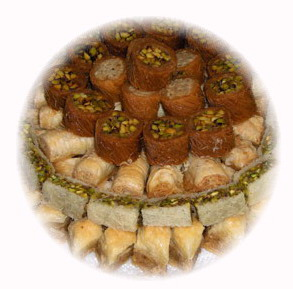 Fruits and gourmet basket to Lebanon, Sweets, Ramadan sweets